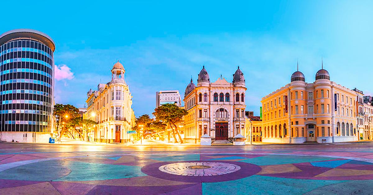 imagem da cidade de Recife, representando os selecionados do Brain Open