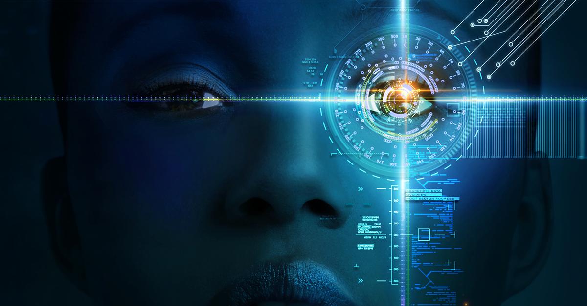imagem com olhar digital que mostra uma solução de habilidades do futuro